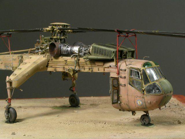 Sikorsky CH-54A Skycrane by Jean-Baptiste VERLHAC (1:72 Revell)