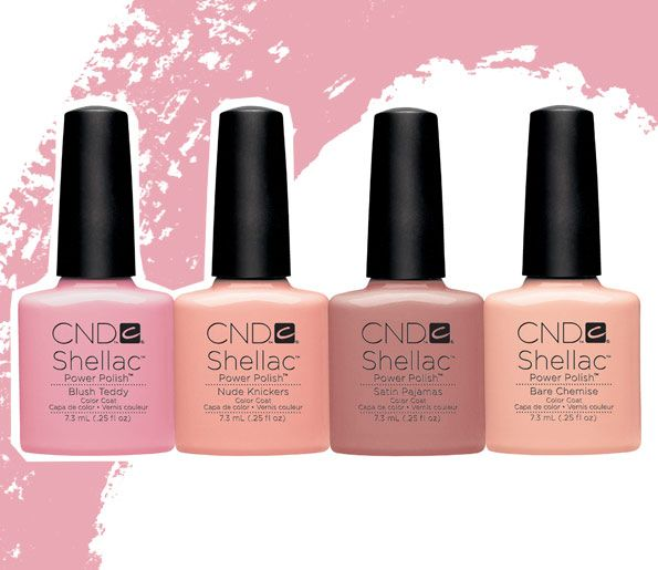 Shellac Intimates collection, CND