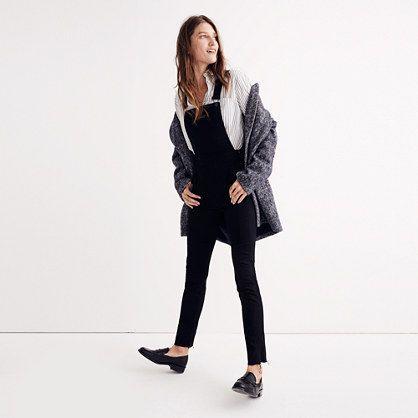 skinny overalls: raw-hem edition // madewell