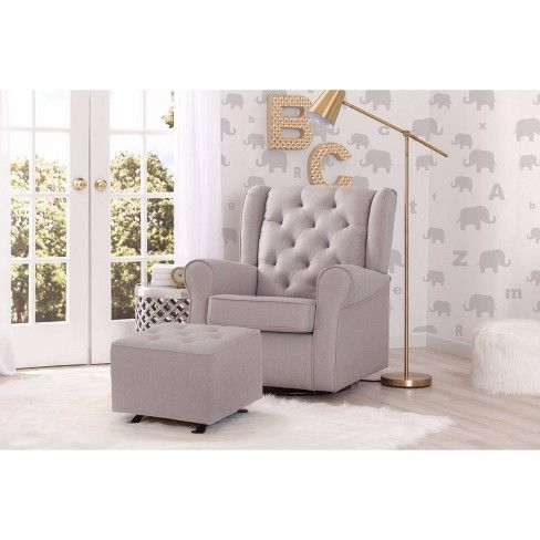 Magnificent Delta Children Emma Nursery Glider Swivel Rocker Chair Ocoug Best Dining Table And Chair Ideas Images Ocougorg
