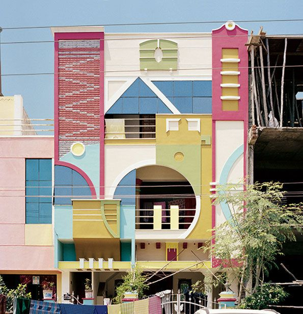 gasoline-station:  Indian buildings by Vincent Leroux Buildings which influenced the Italian architect Ettore Sottsass.
