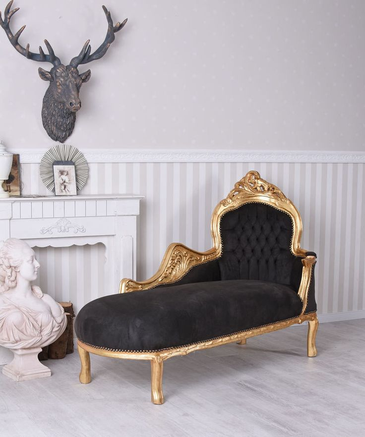 Barocksofa Liege XXL Sitzbank Sofabank Sofa Barock Recamiere Ottomane Antik  | Möbel U0026 Wohnen, Möbel