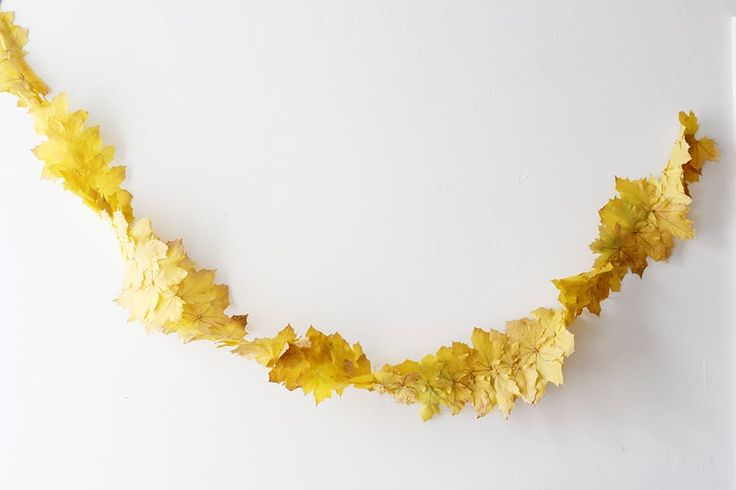 Balloons and bright colors are fun, of course, but this achingly elegant and minimal streamer by The House That Lars Built was made for a grown-up Thanksgiving.
