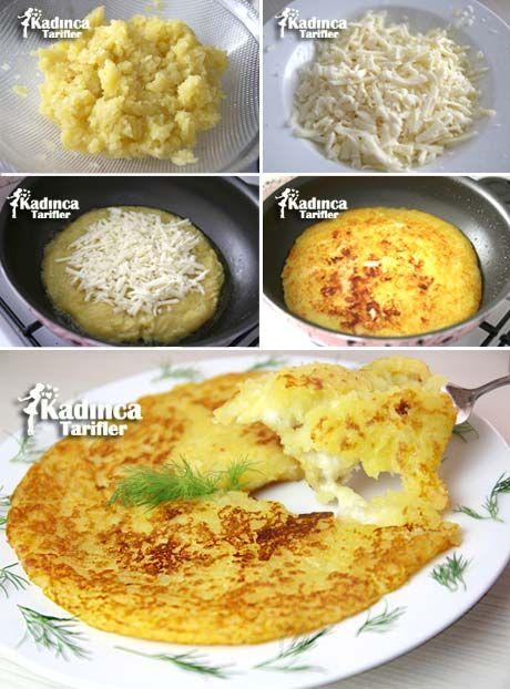 Tavada Kaşarlı Patates Tarifi | Kadınca Tarifler | Kolay ve Nefis Yemek Tarifleri Sitesi - Oktay Usta