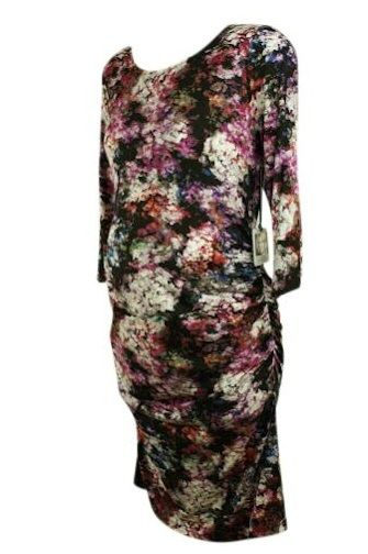 Motherhood Closet - Maternity Consignment - *New* Floral Jessica Simpson Ruched All Occasion Dress (Size Large), $45.00 (http://www.motherhoodcloset.com/new-floral-jessica-simpson-ruched-all-occasion-dress-size-large/)