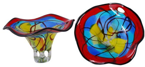 Rikaro handmade glassware.  Purchase these gorgeous items through Retina Austalia (WA) and you will be helping to fund raise for research into finding a cure for blindness