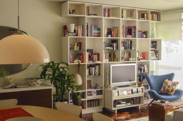 Estante   Apartamento Moema   Lucia Manzano   Arquitetura + Paisagismo