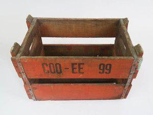 Vintage Drinks Crates