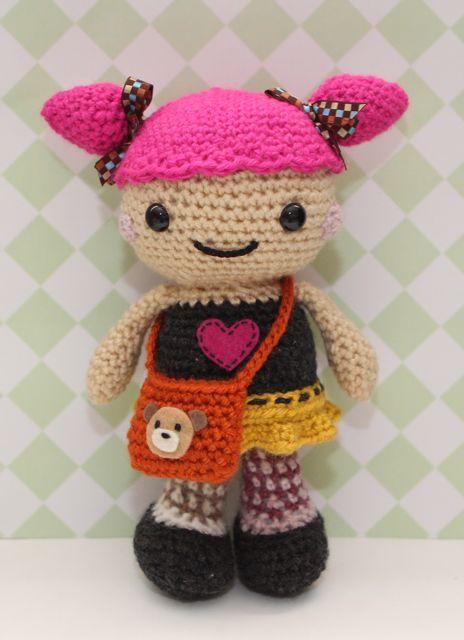 Designer Crochet Amigurumi Patterns Merida Warrior Princess : 1000+ images about Amigurumi - Little Muggles on Pinterest ...