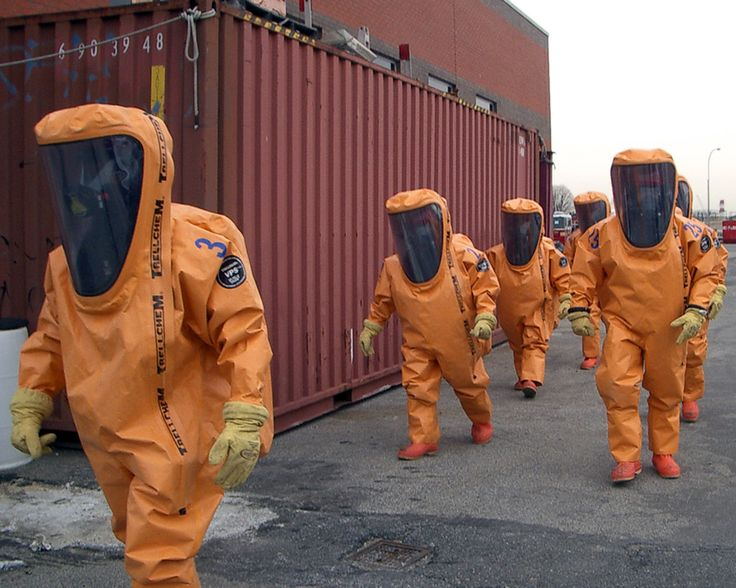 https://flic.kr/p/cpAkwQ | Trellchem VPS Flash suits | A Fire Department Hazmat Team on route to training in their Trellchem VPS Flash suits. Please visit our website for more info on Trellchem chemical protective suits: protective.ansell.com/Products/Trellchem/
