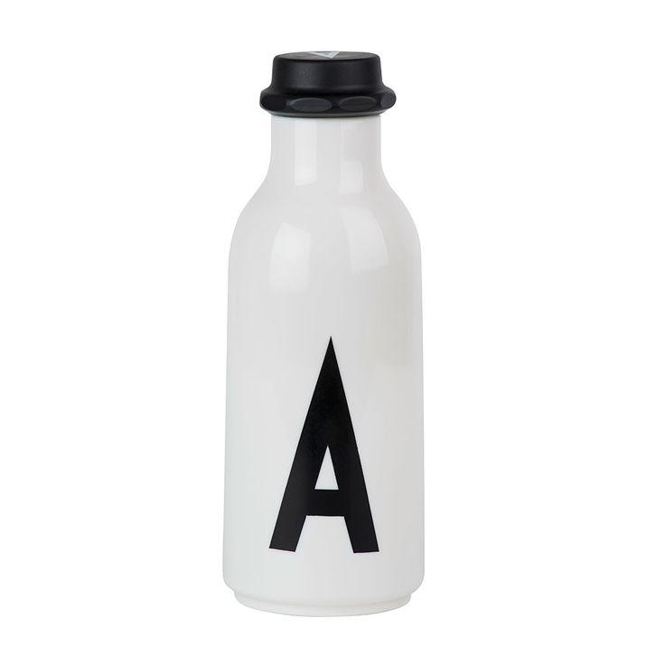 Design Letters Water Bottle, A, Design Letters