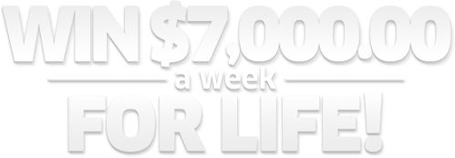 PCH Contest | Win $7,000.00 A Week For Life!