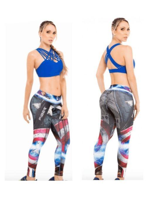Captain America Leggings #captainamerica #supergirls #leggings #Marvel #Comics #fitness #girl