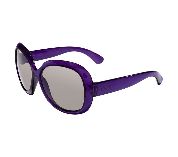 Buy EX3D  1013 Children's Passive 3D Glasses Price: £34.99 Get young kids into 3D film and television with the girly EX3D 1013 Children's Passive 3D Glasses. Practical & purple In a cool purple colour, these 3D glasses will work at the cinema as the kids get immersed in exciting adventures, as well as watching content on any 3D TV or even a projector! With passive technology you will not have...