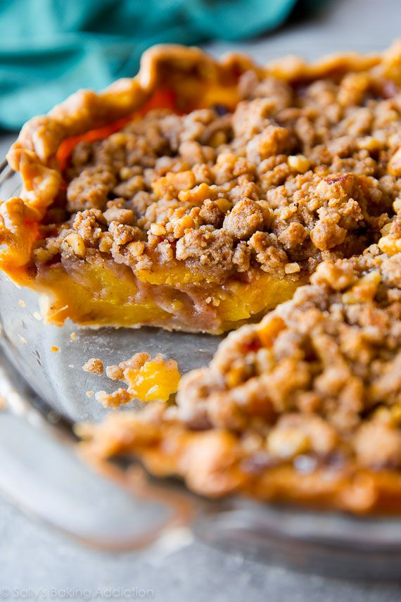 ... about Peach Crumble Pie on Pinterest | Peach Crumble, Pie and Peaches