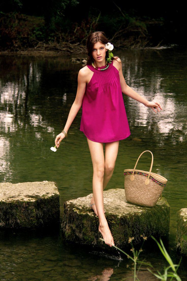 Top Atash - 100% hand woven cotton from Bangladesh www.originesnomades.com