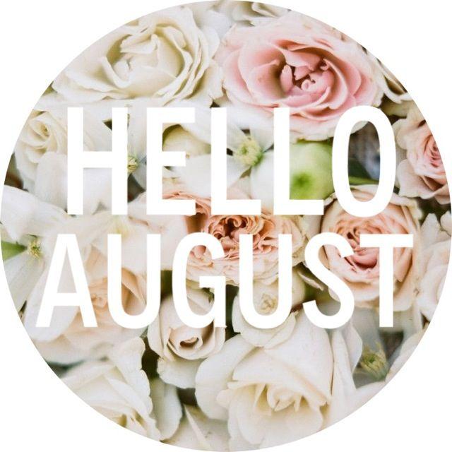 HELLO AUGUST. www.batblifestyle.com