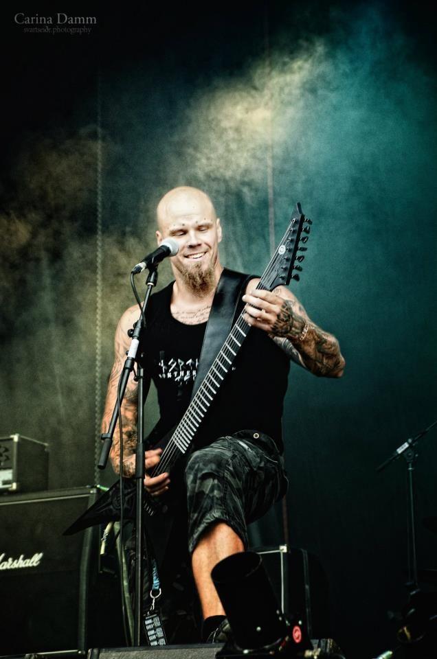 #Wolfheart Tuomas Saukkonen, photo by Carina Damm