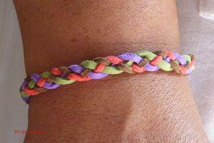 Hazte diferentes pulseras para lucir en el día a día aprendiendo a realizar trenzas de cuatro cabos. ¡Aquí tienes el paso a paso!