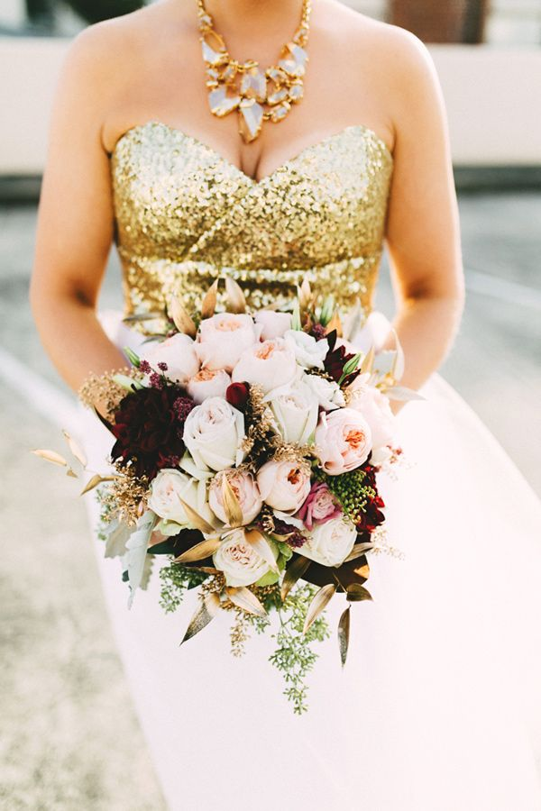 1000 Images About Metallic Weddings On Pinterest