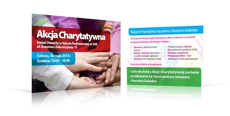Akcja Charytatywna - ulotka