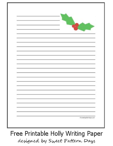 free printable christmas writing paper To add a beautiful touch of winter to your correspondence, try using our snowflake writing paper designs even though they're a more compact size, they're still filled with the spirit of christmas snow and will brighten the day of a special friend or loved one.