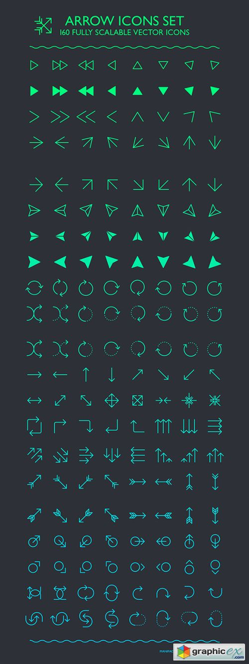 Arrow Icons Set                                                                                                                                                                                 More