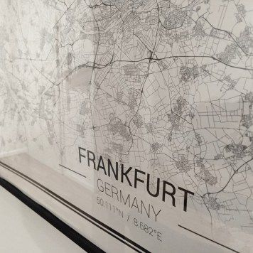 Maps of Frankfurt  Frankfurt - our home base
