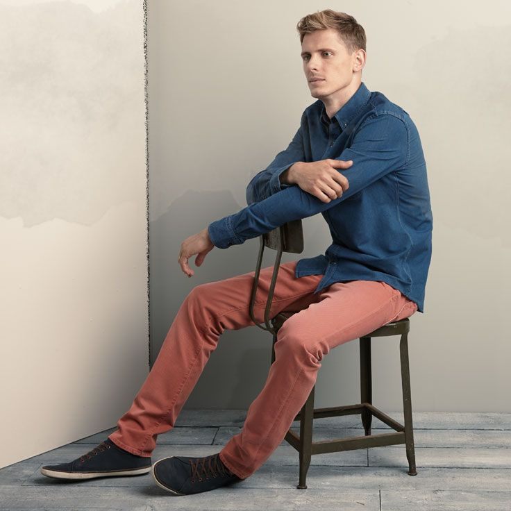We double denim dare you to shake up your closet with color.Men Style, Men Fashion, Double Denim, Denim Dare, Men Wear