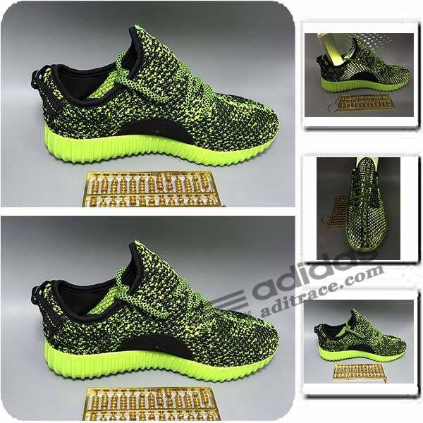 Adidas Yeezy Boost 350 Prix Chaussure Homme Vert/Noir :aditrace