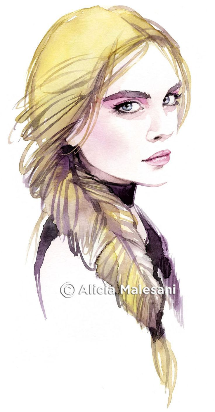 Top 25+ best Fashion illustration face ideas on Pinterest ...