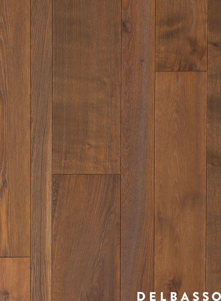 Parquet di quercia francese con finitura a olio vegetale, colore tabacco. French Oak Floor, oil finished, colour: tabacco. #parquet by @delbassoparquet