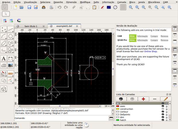 Procurando um poderoso poderoso sistema de CAD 2D que seja fácil de usar? Então conheça e instale o QCAD no Linux manualmente.  Leia o restante do texto Como instalar o QCAD no Linux manualmente  from Como instalar o QCAD no Linux manualmente
