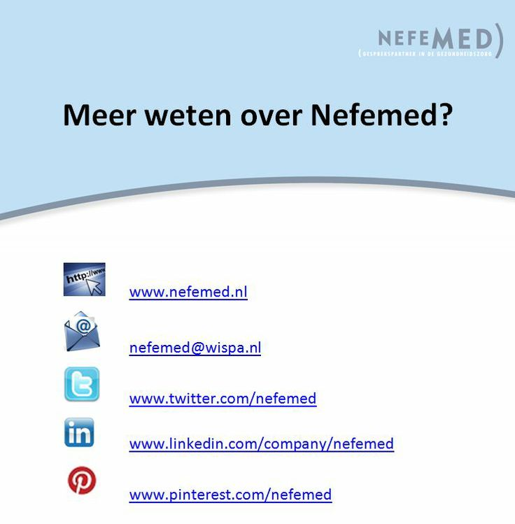 Contactinformatie Nefemed