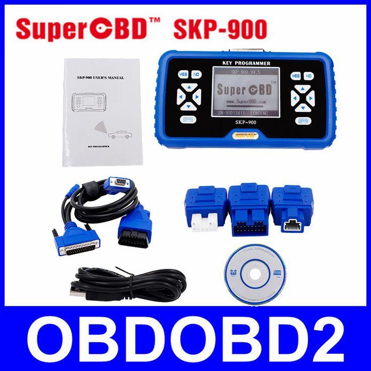 100% Original SuperOBD SKP-900 V4.5 SKP900 OBD2 Auto Key Programmer Free Update Online Support Almost All Cars DHL Free
