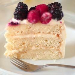 Photo recette : Layer cake à la vanille (gâteau à étages)