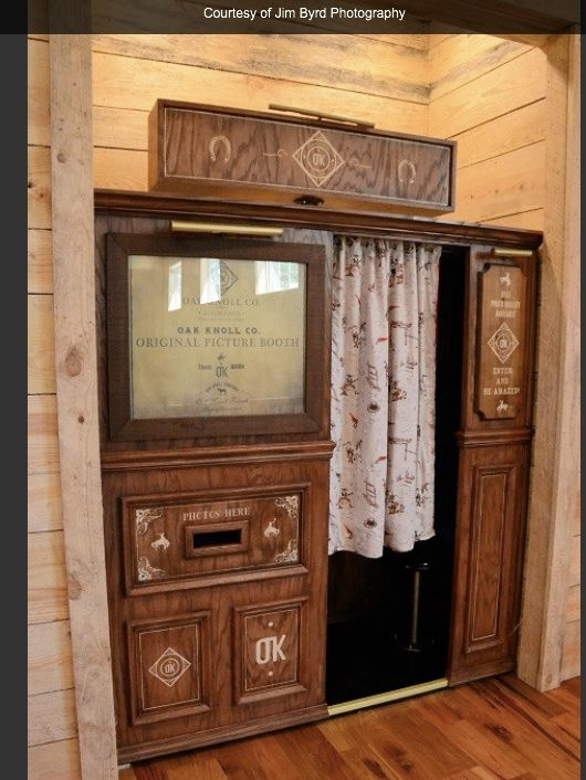 Antique Photo Booth