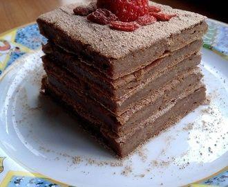 Brownies de Batata Doce, Tâmaras e Cacau Crú