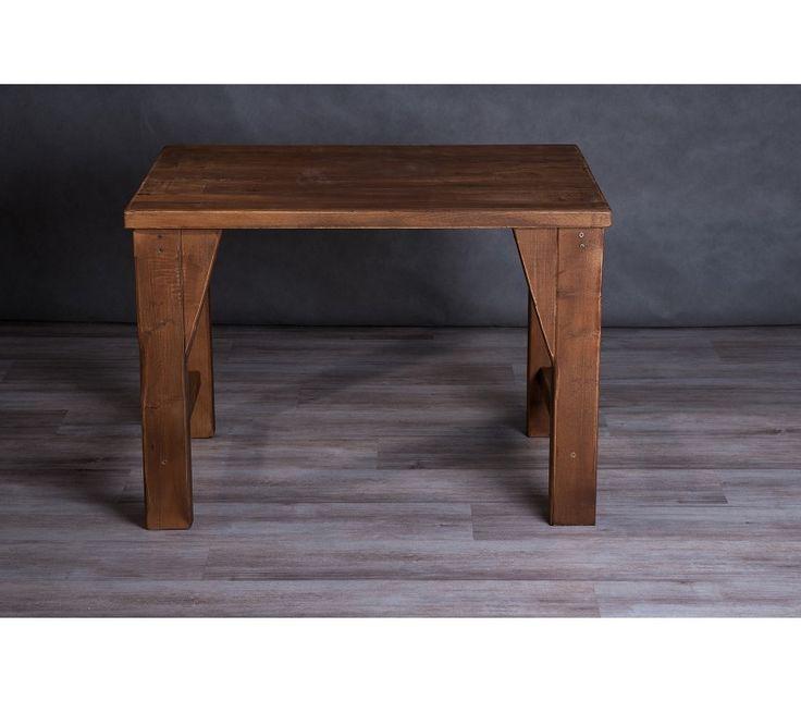 Locust - Akácfából készített mozaikos étkező vagy íróasztal, mely letisztultságával, egyedi színével és egyszerű vonalaival bármilyen környezetbe beilleszthető. Rusztikus otthon, étkezőasztal