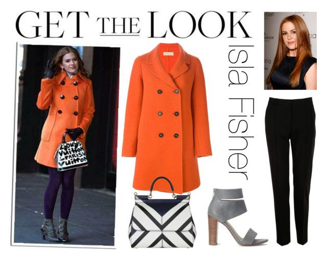 """""""Get the Look: Isla Fisher"""" by marinakoval ❤ liked on Polyvore featuring Massimo Alba, Dolce&Gabbana, Splendid and GetTheLook"""