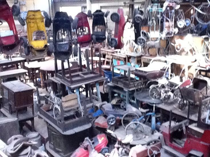 Vista general de la tienda. Sonia Carroza Antiguedades
