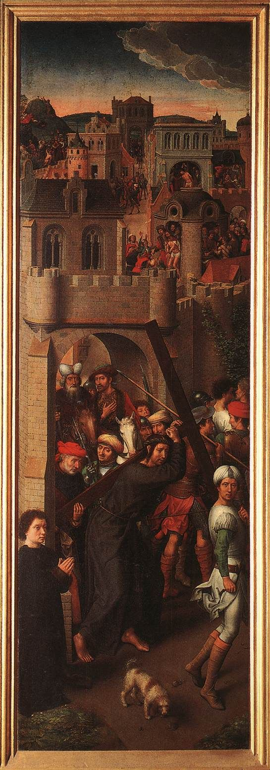 Hans Memling (1430 - 1494) |  Scenes from the Passion of Christ (detail). Galleria Sabauda, Turin, Italy.