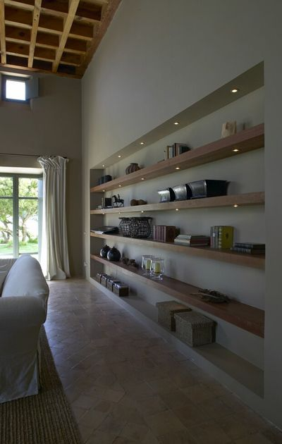 Recessed Shelving (Flamant)