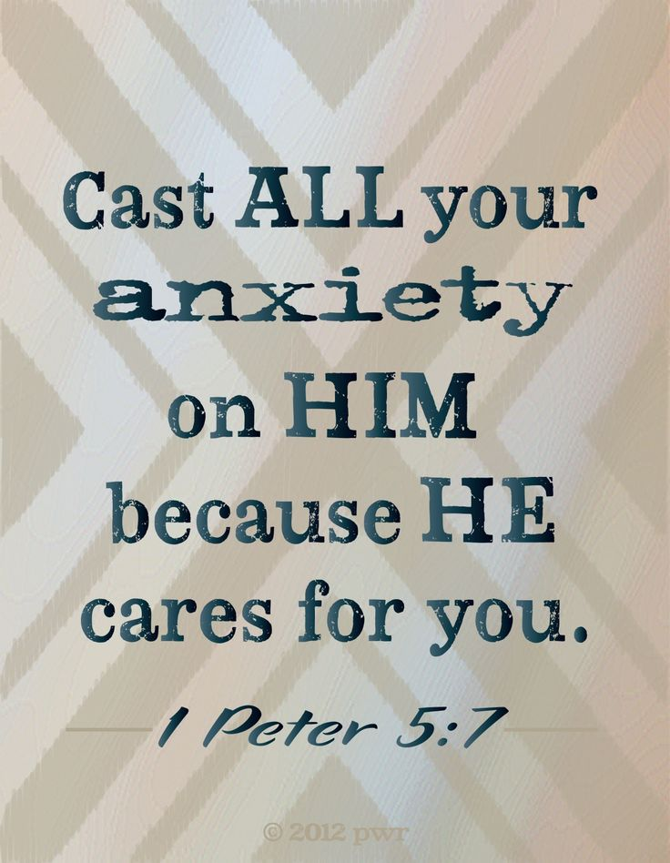 1 Peter 5: 7 | Quotes at Repinned net