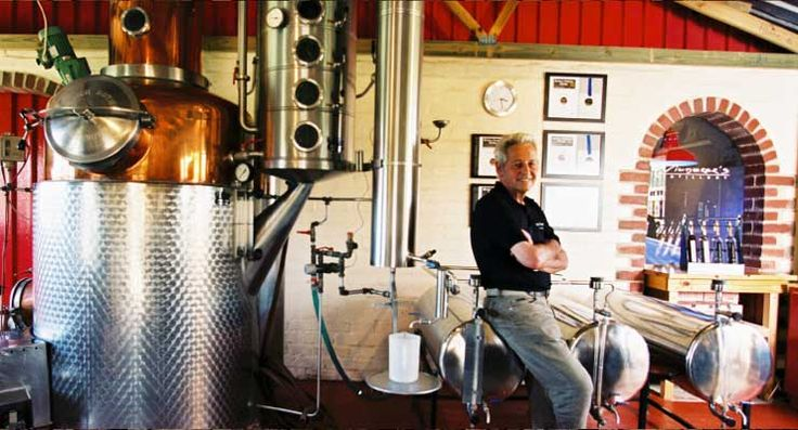 Wilderer Distillery at Spice Route in Paarl