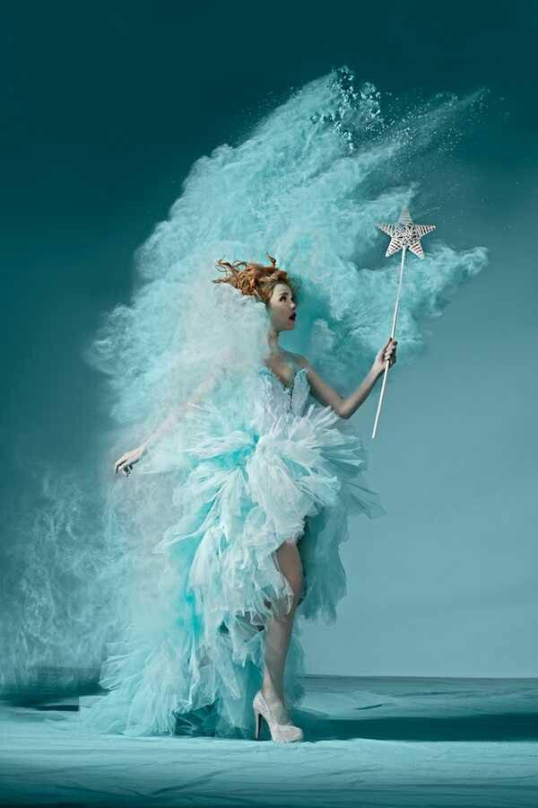 An aqua fairy from the Waves ❤