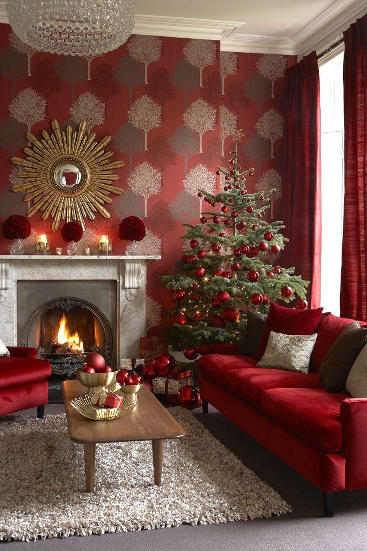 22 best christmas living room ideas images on pinterest