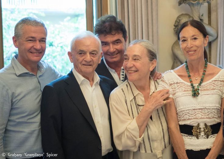 The Amici della Scala celebrated one of Italy's most important theatre designers, Luisa Spinatelli, with her colleagues and friends.