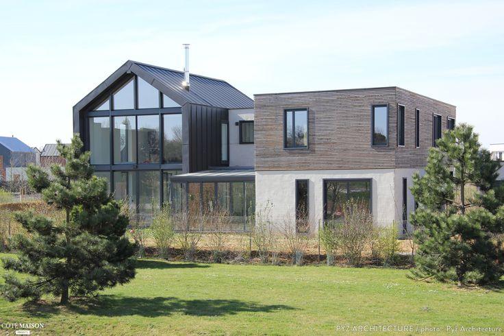 Maison ossature bois à Chessy, Chessy, PYZ ARCHITECTURE - architecte