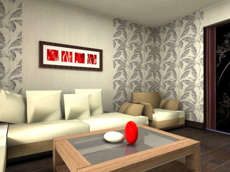 Картинки по запросу варианты комбинирование обоев в квартире фото